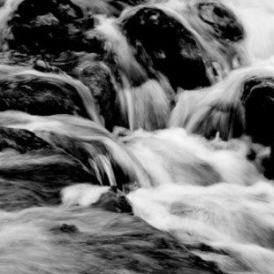 Upland - Independent Board Advice - Black and white flowing water